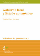 Gobierno local y  Estado autonómico