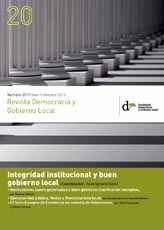 Revista Democracia y Gobierno Local nº 20