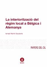 La interiorització del règim local a Bèlgica i Alemanya, Colección Papers del CIL - 5