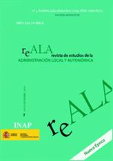 Revista de Estudios de la Administración Local y Autonómica. Nueva Época. Nº 2