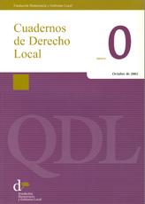 Cuadernos de Derecho Local nº 0