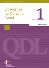 Cuadernos de Derecho Local nº 1