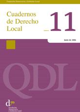 Cuadernos de Derecho Local nº 11