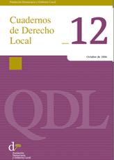 Cuadernos de Derecho Local nº 12