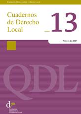 Cuadernos de Derecho Local nº 13