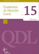 Cuadernos de Derecho Local nº 15