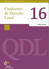 Cuadernos de Derecho Local nº 16