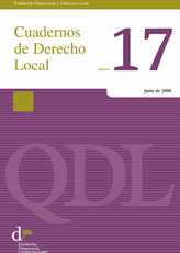 Cuadernos de Derecho Local nº 17
