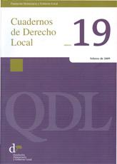 Cuadernos de Derecho Local nº 19