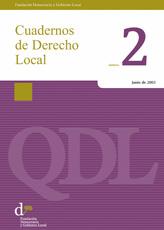 Cuadernos de Derecho Local nº 2