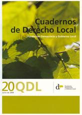 Cuadernos de Derecho Local nº 20