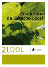 Cuadernos de Derecho Local nº 21
