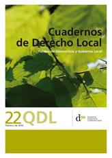 Cuadernos de Derecho Local nº 22