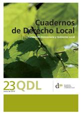 Cuadernos de Derecho Local nº 23