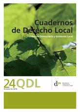 Cuadernos de Derecho Local nº 24