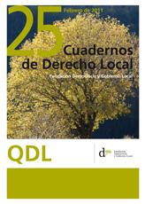 Cuadernos de Derecho Local nº 25