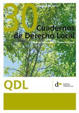 Cuadernos de Derecho Local nº 30