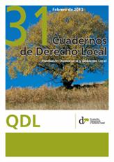 Cuadernos de Derecho Local nº 31