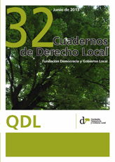 Cuadernos de Derecho Local nº 32