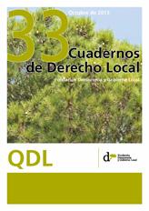 Cuadernos de Derecho Local nº 33