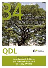 Cuadernos de Derecho Local nº 34