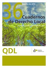 Cuadernos de Derecho Local nº 36