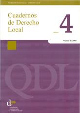Cuadernos de Derecho Local nº 4