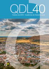 Cuadernos de Derecho Local nº 40