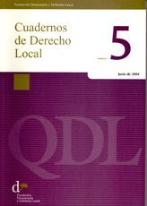 Cuadernos de Derecho Local nº 5