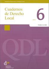 Cuadernos de Derecho Local nº 6