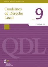 Cuadernos de Derecho Local nº 9