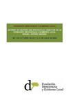 Informe de Gestión de 1 de octubre de 2010 a 31 de julio de 2012