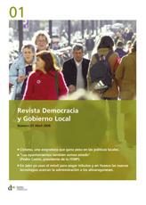 Revista Democracia y Gobierno Local n 1