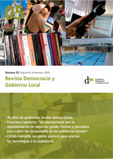 Revista Democracia y Gobierno Local n 05