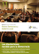 Revista Democracia y Gobierno Local n 11