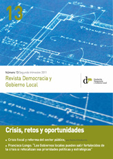 Revista Democracia y Gobierno Local n 13