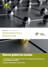 Revista Democracia y Gobierno Local n 14