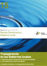 Revista Democracia y Gobierno Local n 15