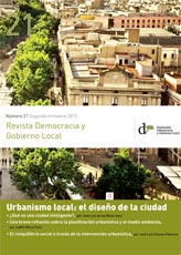 Revista Democracia y Gobierno Local n 21