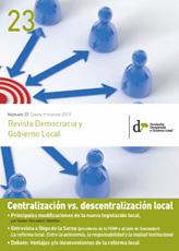 Revista Democracia y Gobierno Local n 23