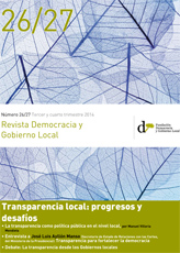 Revista Democracia y Gobierno Local n 26/27