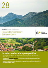 Revista Democracia y Gobierno Local n 28