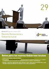 Revista Democracia y Gobierno Local n 29