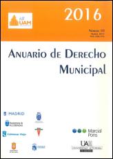 ANUARIO DE DERECHO MUNICIPAL 2016