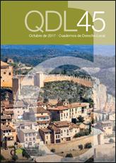 Cuadernos de Derecho Local nº 45