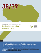 Revista Democracia y Gobierno Local nº 38/39