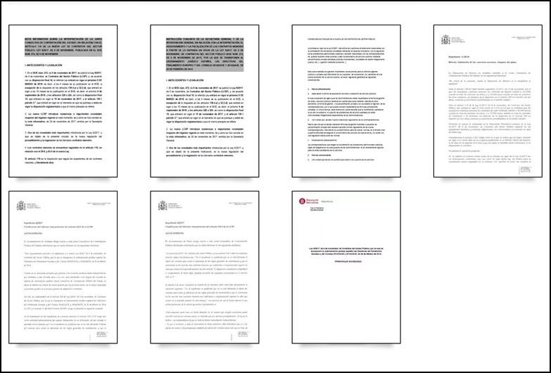 Novedades sobre la Ley 9/2017, de 8 de noviembre, de Contratos del Sector Público
