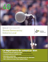 Revista Democracia y Gobierno Local nº 40