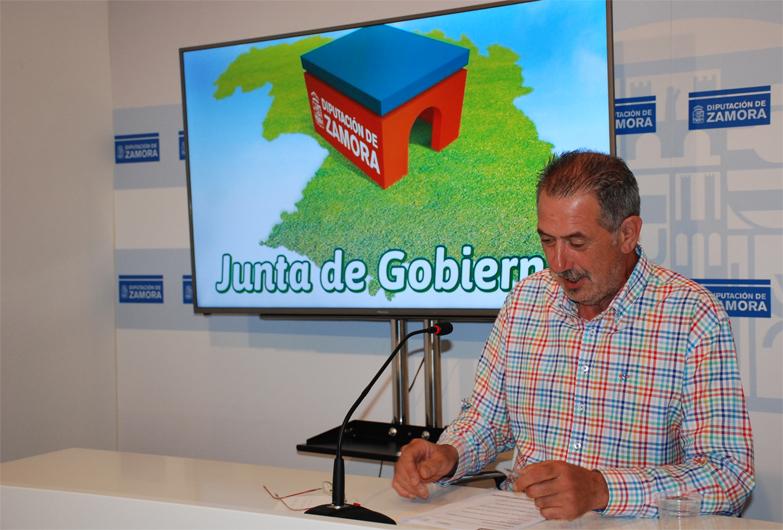 La Junta de Gobierno de la Diputación de Zamora aprueba subvenciones que superan los 600.000 euros para actuaciones de carácter social y asistencial