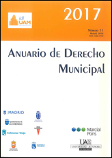 ANUARIO DE DERECHO MUNICIPAL 2017